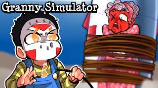 Granny Simulator  SEND NG GRANNY TO SPACE And FUNNY COPS