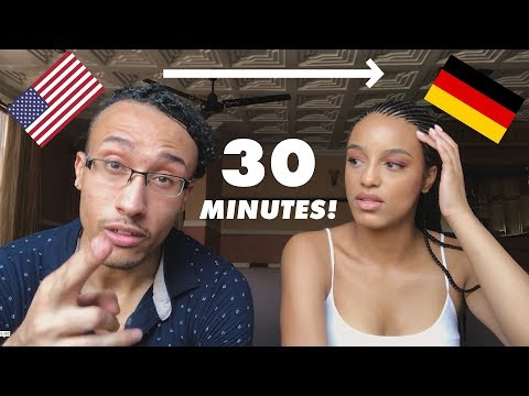 LEARNING GERMAN IN 30 MINUTES (CHALLENGE)