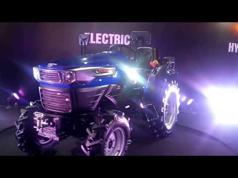 Escorts Unveil India's 1st Electric Tractor Concept