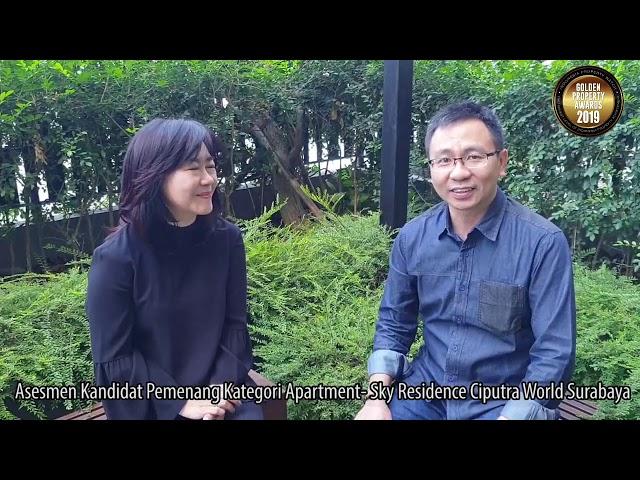 Asesmen Kandidat Pemenang Kategori Apartment   Sky Residence Ciputra World Surabaya