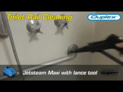 Bathroom Toilet Cleaning in Hospital Infection Control Program
