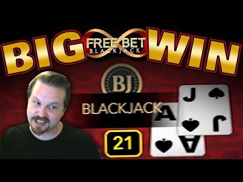 Free Bet Blackjack Winning Session