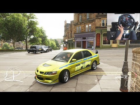 Mitsubishi Evo VIII MR - Forza Horizon 4 | Logitech g29 gameplay