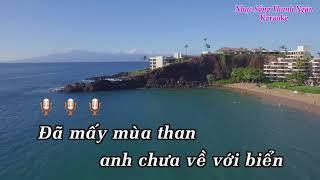 Hạ Long Biển Nhớ | Karaoke Beat Chuẩn 2018 || Nhạc Sống Thanh Ngân