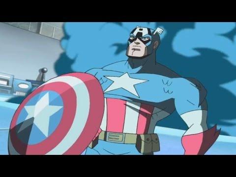 Marvel - Команда Мстители -  Сборник мультфильма все серии подряд, сезон 1 серии 21-23