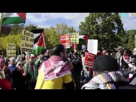 Pro Palestine protest Washington DC