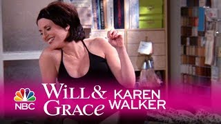Will & grace - karen dazzles jack at first sight (highlight)