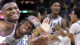 NO WAY 23 POINT COMEBACK!?! DUKE vs LOUISVILLE