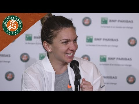Simona Halep - Press Conference Round 2 I Roland-Garros 2018
