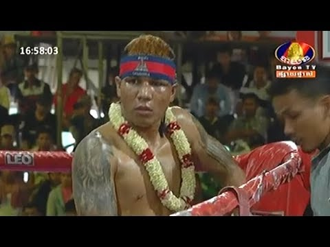Pich Seyha vs Watchharalek(thai), Khmer Boxing Bayon 13 May 2018, Kun Khmer vs Muay Thai