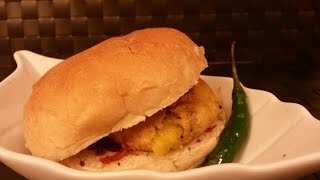 Vada Pav- Vegetarian Indian Burger- spicy fast food recipe by Tastebeat