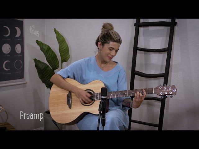 Wabi Sabi Folk Solid Top Acoustic-Electric Guitar