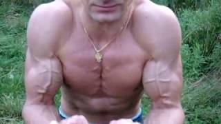 Real Abs Six-Pack and Pumping Biceps #absbodyfitness