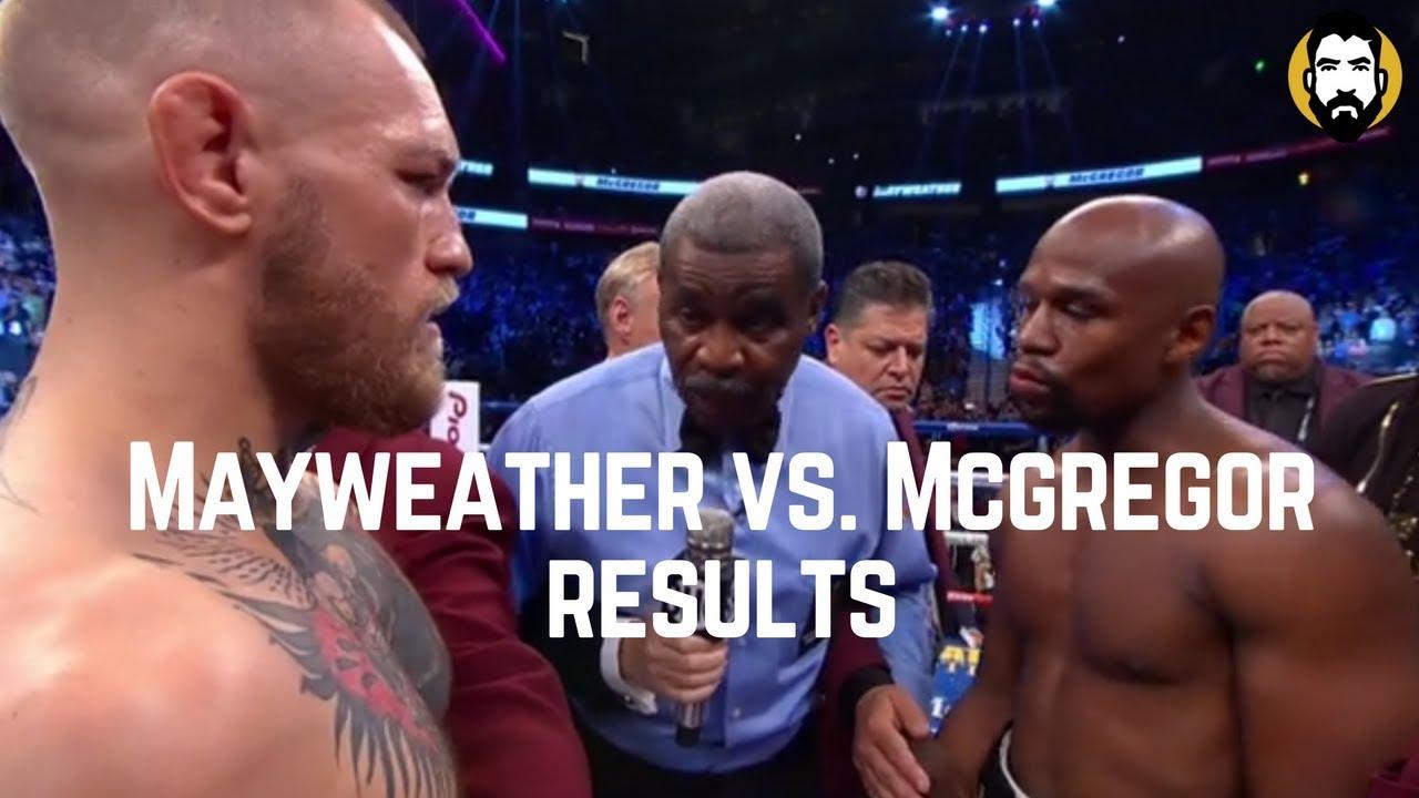mayweather vs mcgregor winner money