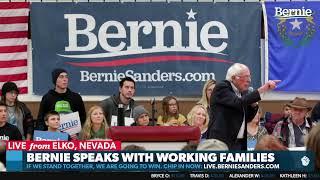 Bernie Speaks with Working Families in Nevada