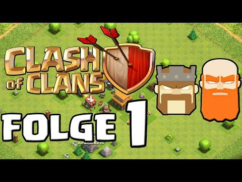 Let's Play CLASH OF CLANS ☆ Folge 1
