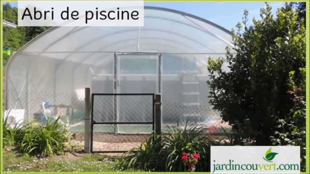 Abri de piscine conomique youtube for Abri piscine octogonale