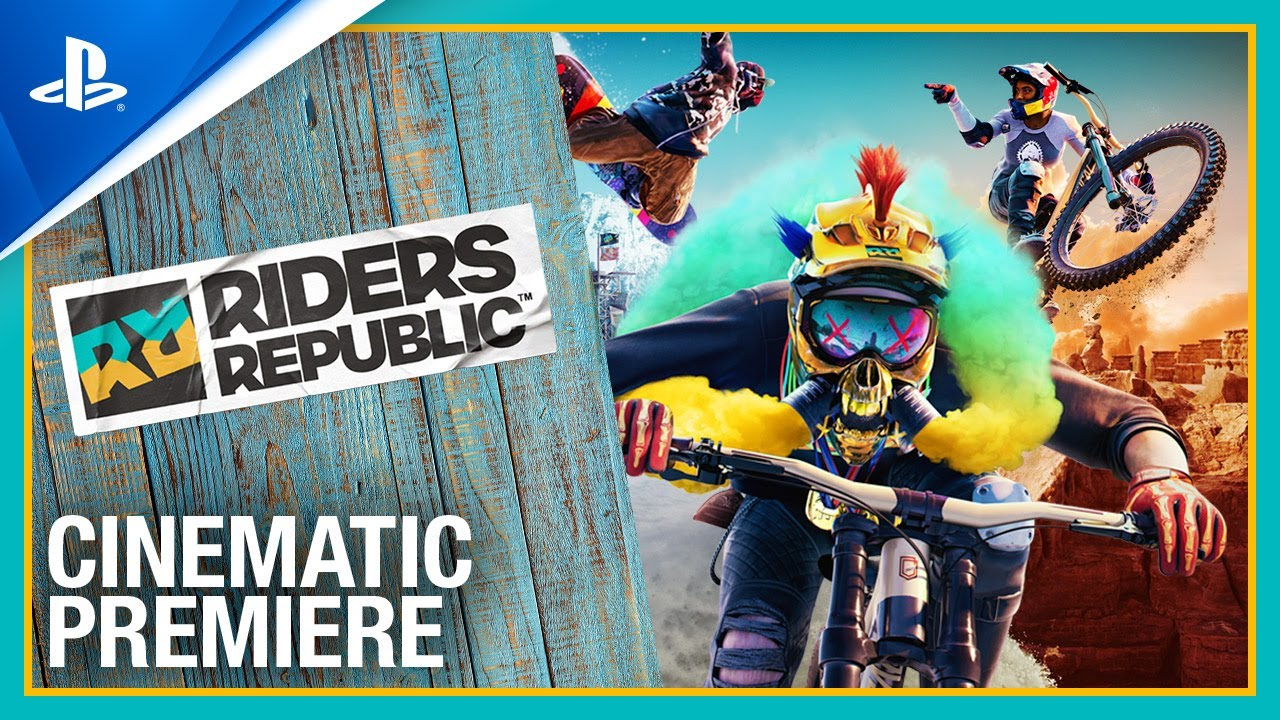 Riders Republic - Cinematic Premiere Trailer | PS4
