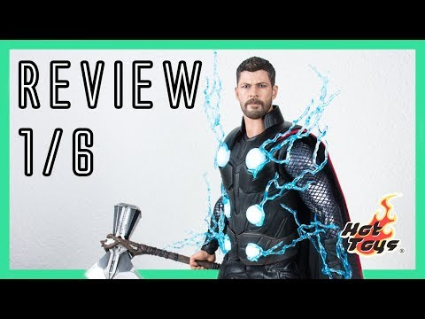 Hot Toys Thor - Avengers: Infinity war - review 1/6 MMS474 incl. UV effect demo