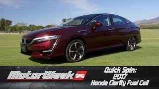 Video Quick Spin: 2017 Honda Clarity Fuel Cell download MP3, 3GP, MP4, WEBM, AVI, FLV April 2017
