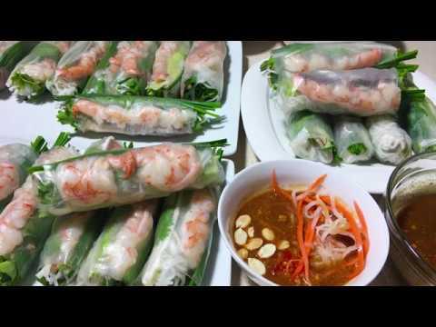 Gỏi Cuốn Tôm Thịt – Fresh Spring Rolls