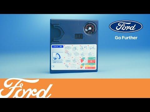 Как использовать комплект для ремонта шин | Ford Russia