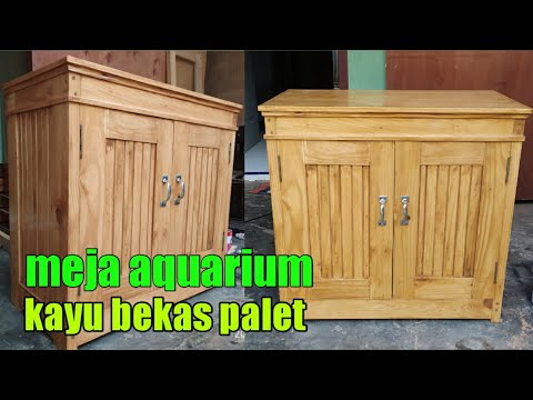Meja Aquarium Minimalis Youtube