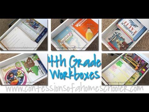 4th Grade Homeschool Workload