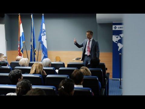 Guverner HNB-a Boris Vujčić – gost predavač - Sveučilište Libertas