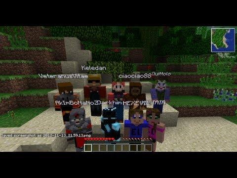 Minecraft in compagnia 02 youtube for Disegni da colorare minecraft