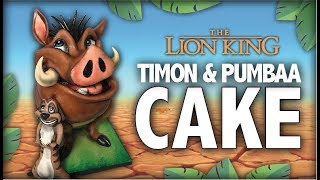 The Lion King Timon and Pumbaa CAKE!