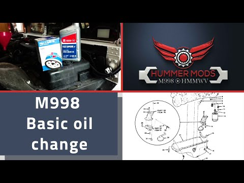 Speedy HMMWV M998 Oil Change Filter 85060, M1038 Hummer