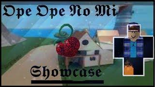 Roblox - France Ope Ope No Mi Showcase! Steve's One Piece!