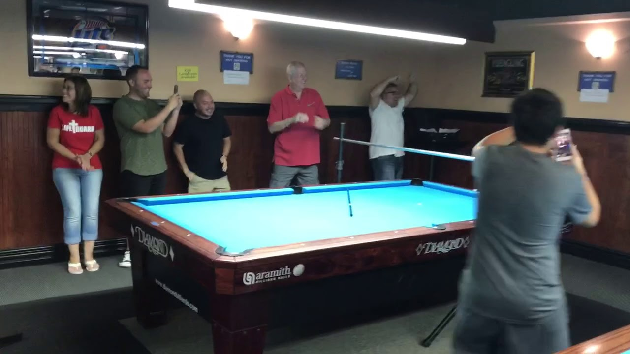 Guinness World Record Jump Pot YouTube - Guinness pool table