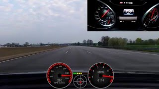 Mercedes-AMG A45 2016 (381hp)  0-280 Km/h RACE Start AMG Driver Package
