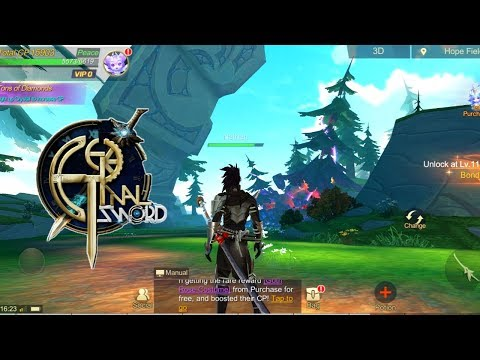 Eternal Sword M Gameplay (OPEN WORLD MMORPG) Android/IOS
