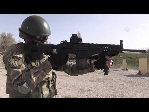 Milli Piyade Tüfeği MPT 76 komandoların hizmetinde