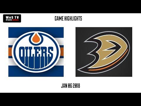 NHL Highlights   Edmonton Oilers vs  Anaheim Ducks   Jan  6, 2019