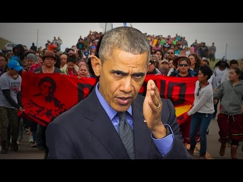 Why Won't Obama Show Leadership on Dakota Pipeline?
