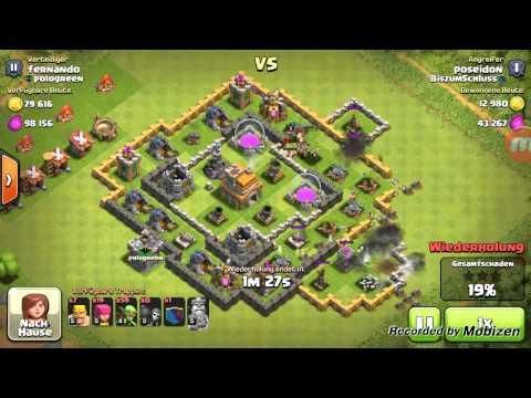 Clash of Clans Woche Tag 3 - Ca. 728 k Loot!!!!