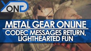 Metal Gear Online - Codec Messages Return, Lighthearted Fun thumbnail
