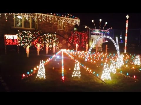 Christmas Lights Light House Show Display to Music Decorating Ideas ...