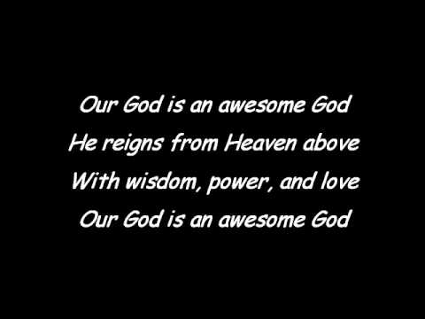 Awesome God Hip-Hop Mix with Lyrics