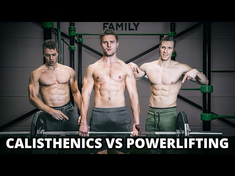 CALISTHENICS vs POWERLIFTING ft. Tom Tuning