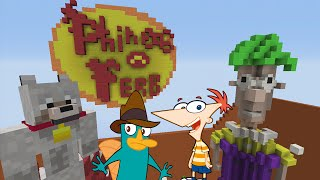 Minecraft Xbox Hide and Seek - Phineas and Ferb