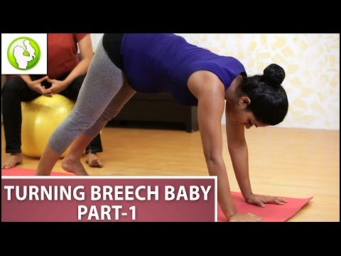 Exercise For Turning Breech Baby - Part 1