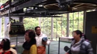 The Maokong Gondola, cable car in Taipei, Taiwan