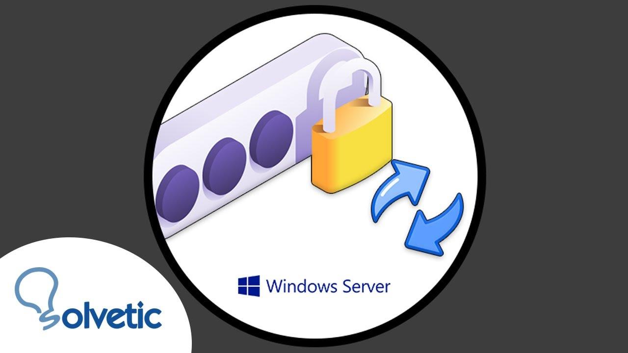 Cómo resetear contraseña administrador en Windows Server 2016 - YouTube