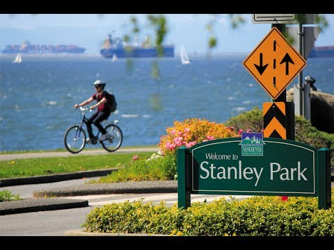 Vancouver Travel - Beautiful Stanley Park Self Guided Bicycle Tour