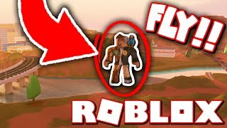 HOW TO FLY GLITCH IN ROBLOX JAILBREAK!! *SECRET!*